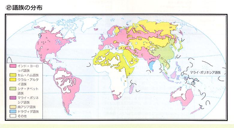 世界の語族